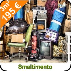 Smaltimento mobili ed elettrodomestici
