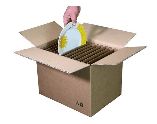 scatola per i piatti