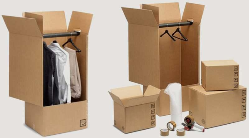 scatole per abiti