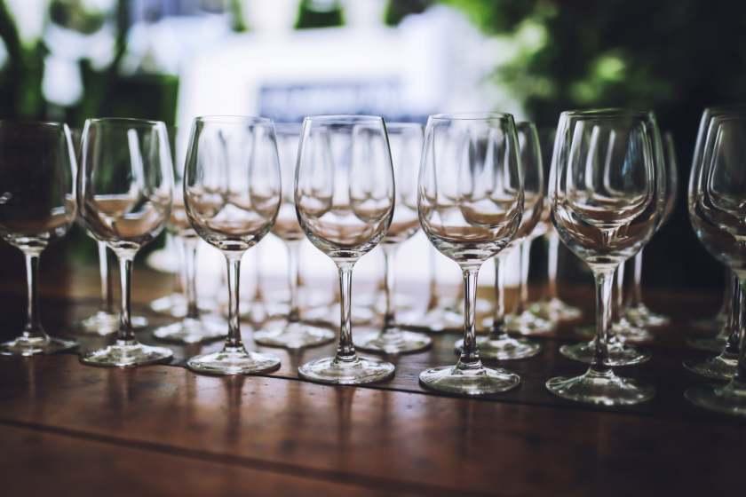 Come imballare i bicchieri di cristallo