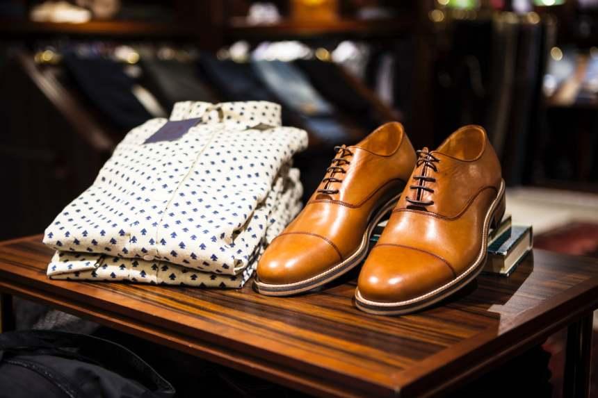 traslocare scarpe e vestiti